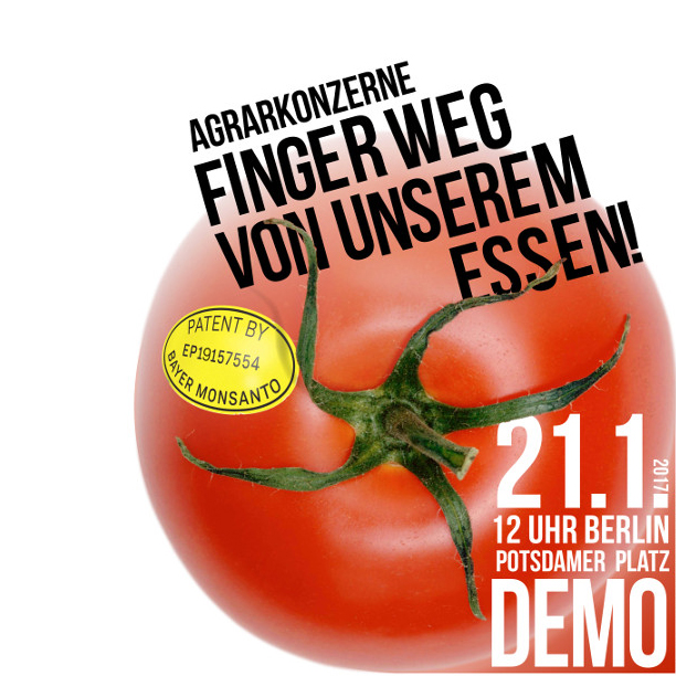 Bio-Demo in Berlin